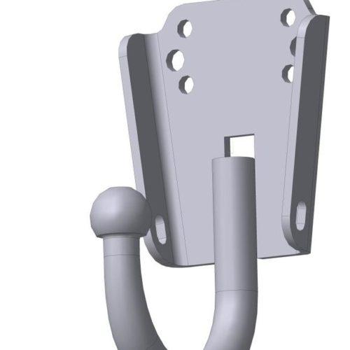 Фаркоп Oris-Bosal 6501-A УАЗ 469, 31512, 31514, 2206, 3303, 3909, 3962, 3741 4x4 1972-